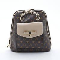 Очень красивый женский рюкзак. Оригинальный. Молодежный рюкзак. Высокое качество. Купить рюкзак. Код: КДН563, фото 1