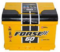 Автомобільний акумулятор Forse 60Ah, 600A, R+