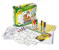 Набор для творчества с наклейками и фломастерами, Crayola 04-6801 (04-6801)