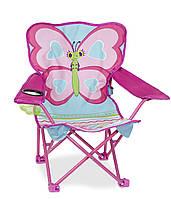 Раскладной детский стульчик Бабочка Белла Melissa & Doug MD16693 (MD16693)
