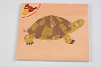 Пазл Черепаха, Мир деревянных игрушек Р 90 (Р 90)