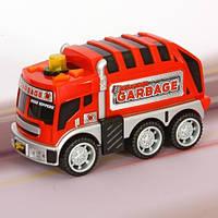 Городская техника 13см со светом и звуком Road Rippers Toy State, мусоровоз (33220-3)