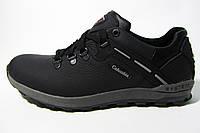 Мужские повседневные кроссовки Columbia, кожа, серые , Р. 42