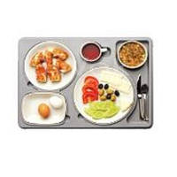 Термоподнос с замком и комплектом посуды Termobox (Menu Mobile)