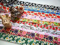 """Закладки для учебников и тетрадей """" Цветы"""""""