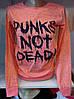 Батник демисезонный коттоновый женский Punks Not Dead