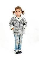 Детское полупальто двубортное ткань верха  кашемир-букле