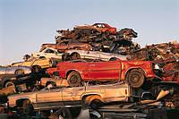 Легковые авто металлические на металлолом, фото 1