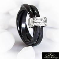 Кольцо керамическое «Роскошное V»