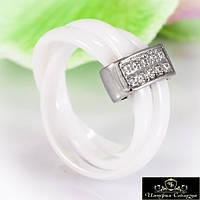 Кольцо керамическое «Роскошное VI»