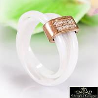 Кольцо керамическое «Роскошное VII»