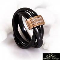 Кольцо керамическое «Роскошное VIII»