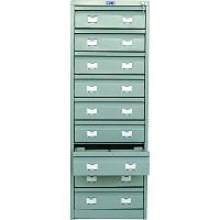 Шкаф картотечный металлический Практик AFC-09 для документов А6 (AFC-09)