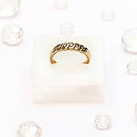 Золотое кольцо с бриллиантами 111446