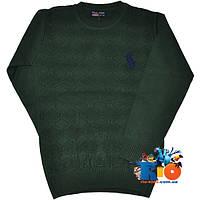 """Детский пуловер """"Polo"""" , тонкой вязки , для мальчика (рост 80-122 см)"""