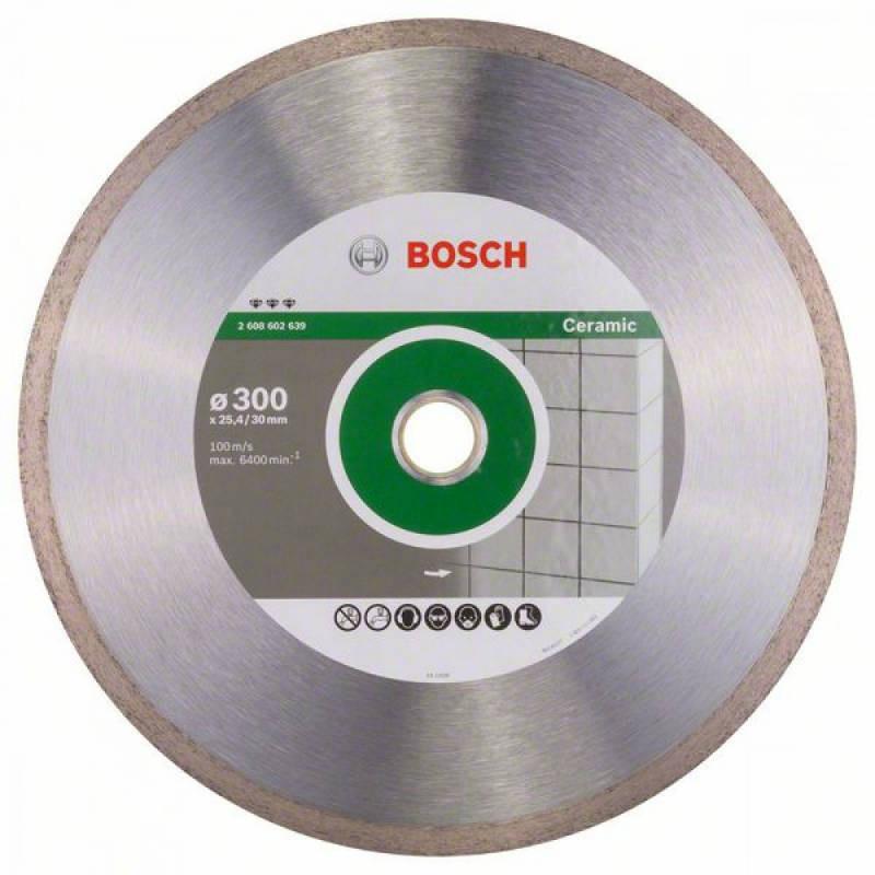 Алмазный отрезной круг Bosch Best for Ceramic300x30/25,4