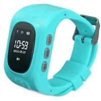 Умные детские часы Smart Baby Watch Q50 Blue