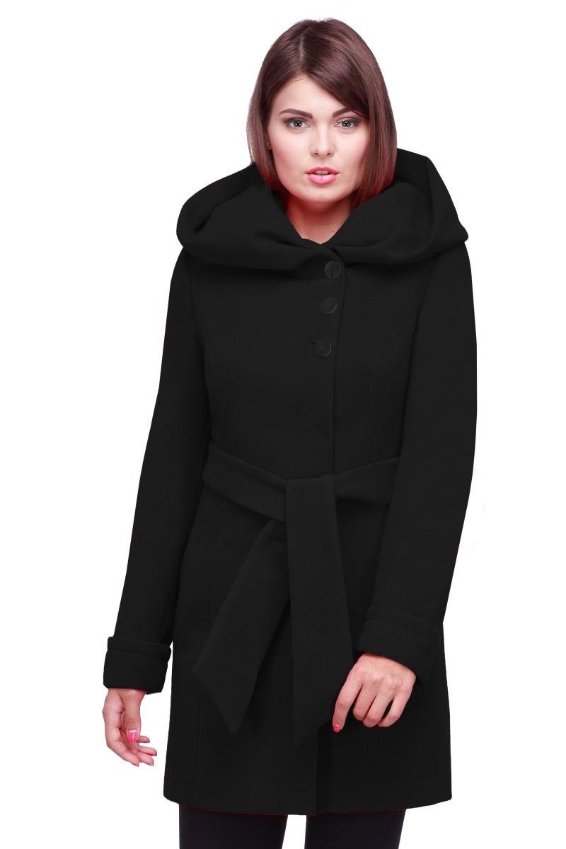 f770696db83 Классическое женское кашемировое пальто черного цвета 50 - Интернет-магазин  одежды