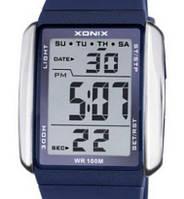 Кварцевые спортивные часы Xonix (blue-white)