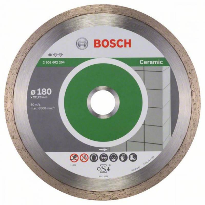 Алмазный отрезной круг Bosch Professional for Ceramic180x22,23