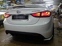 Hyundai Elantra MD фонари стопы оптика
