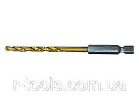 Сверло по металлу, 3,2 мм, HSS, нитридтитановое покрытие, 6-гранный хвостовик MATRIX 7173229