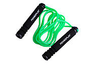 Скакалка для похудения Power Play зеленый
