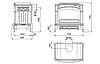 Печь камин чугунная (мультипечь) DOVRE 750 GM, фото 2