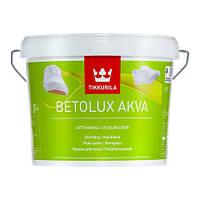 Полуглянцевая краска для окраски бетонных и деревянных полов Бетолюкс Аква Тиккурила, 2,7л