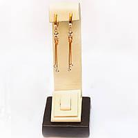Золотые серьги-подвески 116332