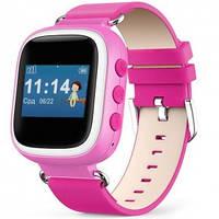 Умные детские часы с GPS Smart Baby Watch Q60 Pink