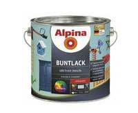 Эмаль алкидная Alpina Buntlack универсальная, глянцевая, транспарентная (база В3), 2,13л
