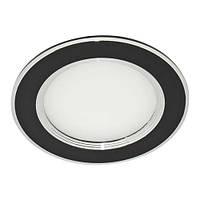 Светильник светодиодный круглый 5W 4500K (99*28mm) ЧЁРНЫЙ ZL2006/Z-Light