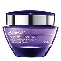 Моделирующий дневной крем для лица Anew Platinum SPF 25 для возраста 55+