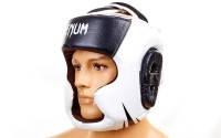 Шлем боксерский с полной защитой кожа VENUM