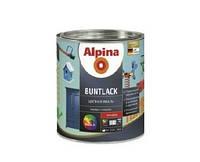 Эмаль алкидная Alpina Buntlack универсальная, глянцевая, транспарентная (база В3), 0,638л