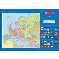 Подкладка для письма Panta Plast Карта Европы 590x415мм (0318-0037-99)
