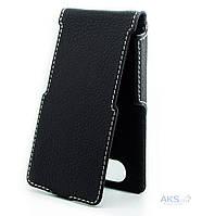 Чехол Status Side Flip Series Prestigio 5506 Grace Q5 Black Matte