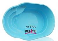 Стекловолоконный бассейн  POOL4YOU Аstra (стоимость чаши указана для базовой комплектации бассейна)