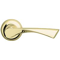 Дверная ручка на розетке Armadillo Corona LD23-1GP/SG-5 золото/матовое золото