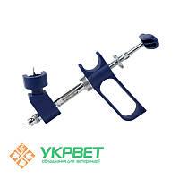 Ветеринарный шприц Socorex с держателем флакона, 0,5 мл