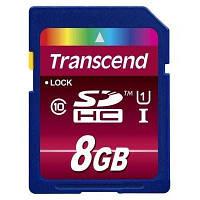 Флеш карта Transcend Secure Digital Card HC UHS-1 (TS8GSDHC10U1) 8Gb, SD (Secure Digital)