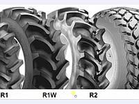 Рисунок протектора тракторных шин