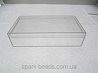 Органайзер коробочка с крышкой для бисера и бусин (140/77/25/35)