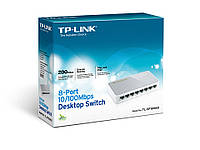 Коммутатор TP-LINK TL-SF1008D Unmanaged 10/100M Switch