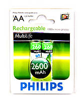 Акумулятор Philips MultiLife AA Ni-MH 2600 mAh