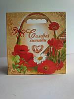 Пакет для свадебного каравая, торта и свадебных шишек