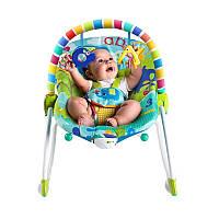 Кресло-качалка (шезлонг) Bright Starts 10316 Сафари до 18 кг