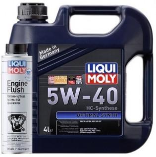 """Синтетическое моторное масло - Optimal Synth SAE 5W-40   4 л. - Интернет-магазин """"Автоник"""" в Полтаве"""