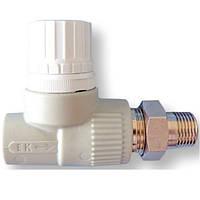 Вентель Радиаторный термостатический Прямой 20*1/2 Ekoplastik (Wavin)